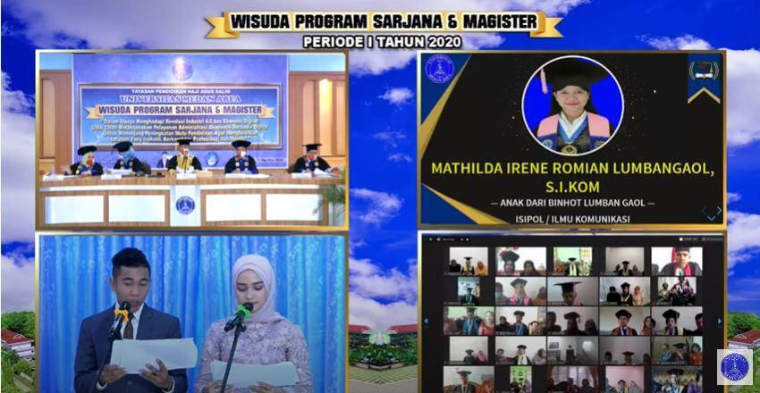 Wisuda Online Universitas Medan Area
